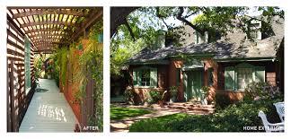 ... Beautiful Garden Decoration Using English Garden Trellis : Beautiful  Outdoor Home Design Ideas With Brown Wooden