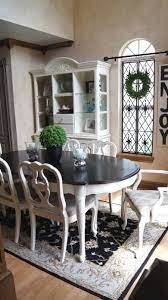dining room table makeover dining