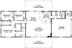 incredible decor sophisticated big 3 ranch bedroom rectangular house plans simple basement floor for style homes