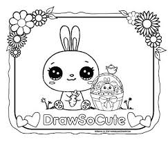 Draw So Cute Coloring Pages Beautiful Draw So Cute Website New How