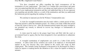 Business Letters Job Termination Letter Request For Resignation ...
