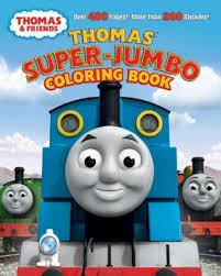 Coloring book pages for kids. Thomas Super Jumbo Coloring Book Thomas The Tank Engine Wikia Fandom