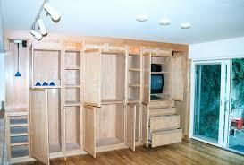 custom built storage cabinets inside plan 14