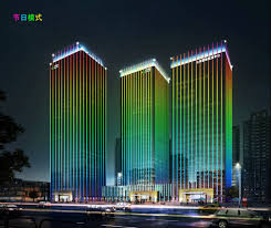 building facade lighting. Building Facade Lighting. Project Design Video Display---whole Lighting By Dmx512