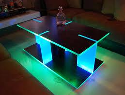Led Coffee Table Diy Diy Lighted Coffee Table Coffee Addicts