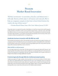 Payment Receiving Format Extraordinary A Strategy For American Innovation Promote MarketBased Innovation
