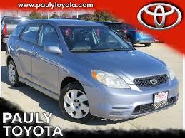 Pre-Owned 2003 Toyota Matrix XR 5D Hatchback in Crystal Lake ...