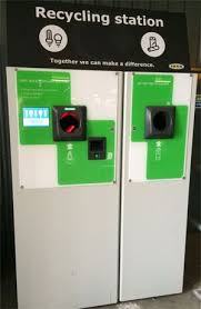 Reverse Vending Machine Uk Cool Ikea Reverse Vending Light Bulb Machine Recycling Vending Machines