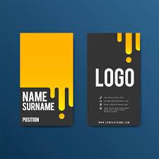 Creative Modern Retro Business Card Design Vector Free Download