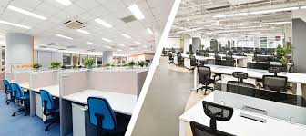 workspace office. Lease Vs Flexible Workspace - Feature Office A