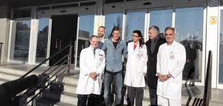 Fernando Torres Pasa Reconocimiento Médico Con El Atlético De Hospital De Fremap En Sevilla