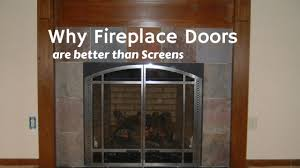 why fireplace doors are better than