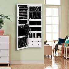 jewelry cabinet armoire mirror