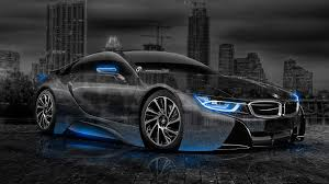 bmw i8 wallpaper 2014. Unique Bmw BMWi8CrystalCityCar2014BlueNeon Inside Bmw I8 Wallpaper 2014 L