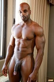 Big black gallery gay man
