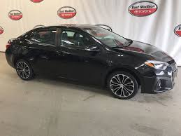 2015 Used Toyota Corolla 4dr Sedan CVT S Plus at East Madison ...