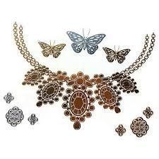 Zlatavá Tetování Náhrdelník Motýl Giil