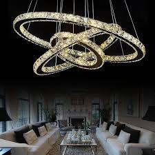 led crystal pendant lamp modern pendant lights creative restaurant cord pendant lighting fixture contemporary style 110
