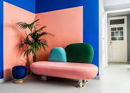 furniture design studios. bright colours and geometric forms used by the memphis group influenced interior design of masquespaciou0027s new studio space furniture studios