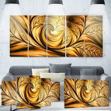 designart x27 golden dream abstract x27 metal wall art on metal wall art overstock with shop designart golden dream abstract metal wall art on sale