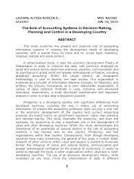applied research paper montreal