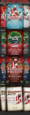 christmas party flyer template bundle clubs parties christmas party flyer template bundle clubs parties