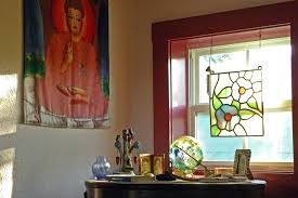 hanging stained glass window hangings also add beveled