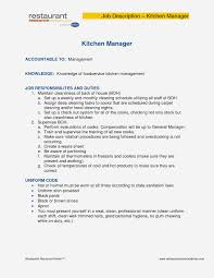 Personal Manager Job Description 12 Dining Room Manager Job