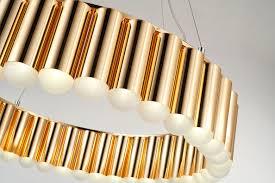 Große Hotel Café Kirchen Lounge Lampe Gold Neuerraum