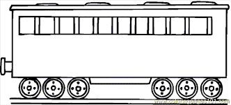Small Picture Train Coloring Page 12 Coloring Page Free Land Transport