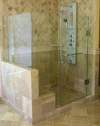 inline shower enclosure steam shower truly glass shower door northern frameless glass shower enclosures cost