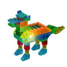 """<b>Светящийся конструктор Crystaland</b> """"<b>Животные</b>"""" 4 в 1, 48 деталей"""
