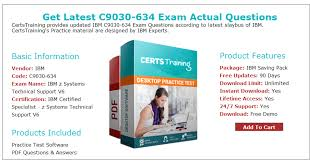 Technical Support Questions Real Ibm Z Systems Technical Support V6 C9030 634 Exam Practice