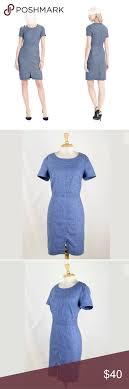 Light Blue Wool Dress Banana Republic Italian Wool Dress Sz2 Luxurious And Elegant