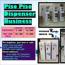 Piso Water Vending Machine Philippines Beauteous PISOPISO Automatic Tubig Machine Business Dispenser Services