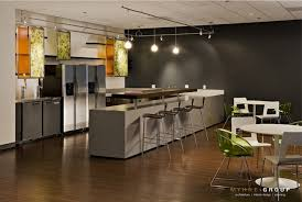 office break room design. Simple Design Multi Purpose Break Room With Dark Gray Accent Wall To Office Break Room Design K