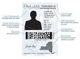 - Temporary Ids Badges And Docushield Secure