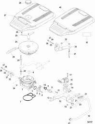 mercruiser mag stroker throttle body mechanical throttle engine section