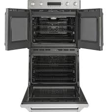 monogram 30 professional french door electronic convection double wall oven