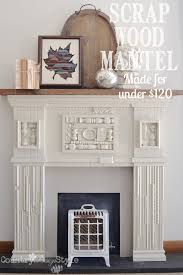 s wood mantel country design style pn text