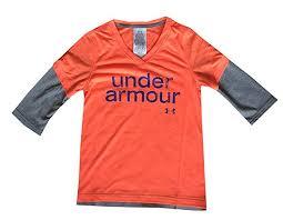 Amazon Com Under Armour Youth Girls 3 4 Sleeve V Neck T
