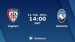 Cagliari - Atalanta risultati in diretta e risultati testa-a-testa