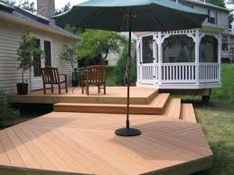 multi step deck