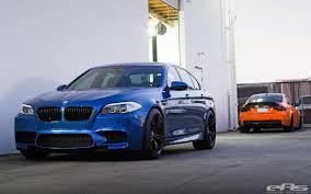 Coupe Series bmw m3 vs m5 : Fire Orange BMW M3 and Monte Carlo Blue BMW M5 by EAS - GTspirit