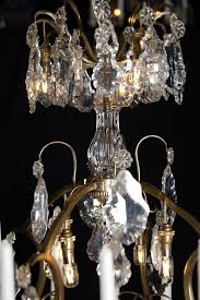 large crystal antique french chandelier with led lighting