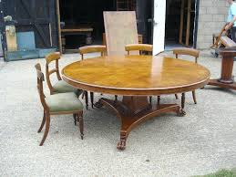 round dining room table seats 8 round dining tables for 12 awesome round dining table round