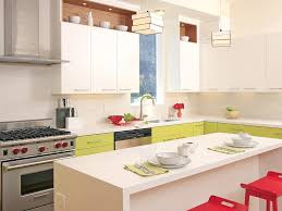 Limestone Kitchen Backsplash Bamboo Cabinetry Led Lights Stainless Hood Contemporary Pulls