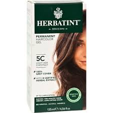 Herbatint Permanent Herbal Haircolour Gel 5c