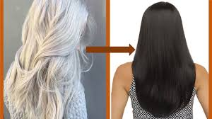 How To Change Grey Hair To Black Hair Naturally