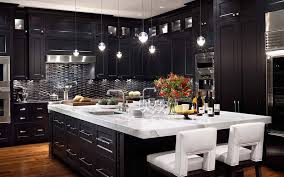 Wonderful Dark Kitchen Cabinets Colors Interesting Top With Design